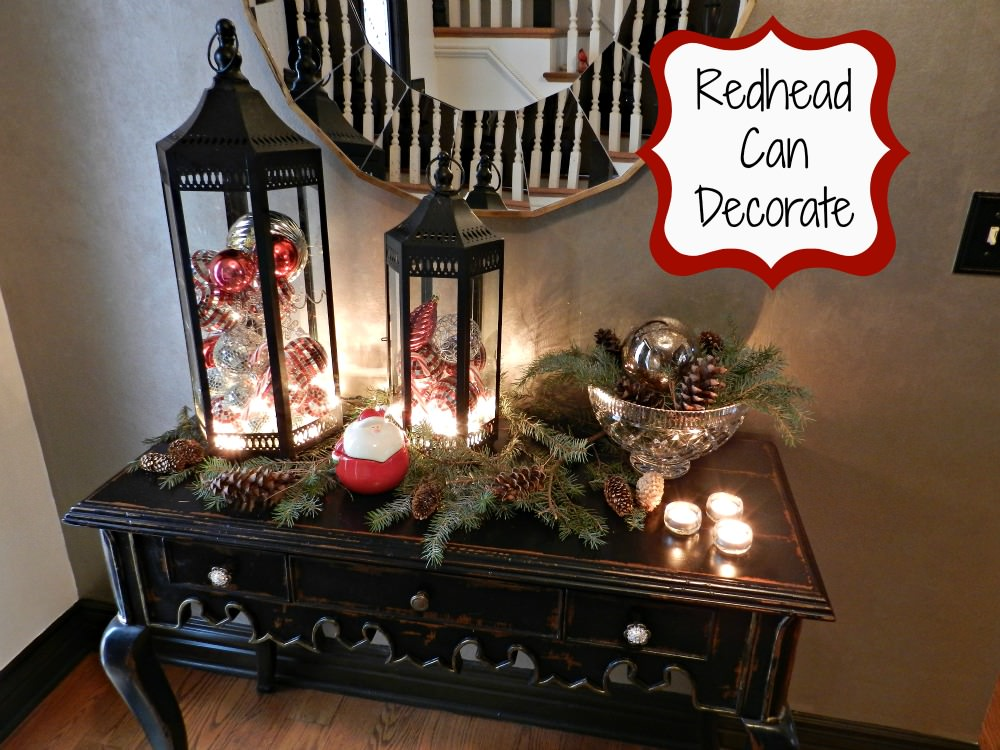 Christmas Decorating (like they do in the magazines) - Redhead Can ...