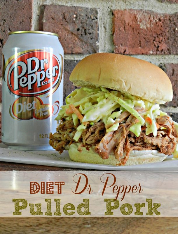 Diet Dr. Pepper Shredded Pork - Redhead Can DecorateRedhead Can ...