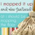 mop it up mondays feature