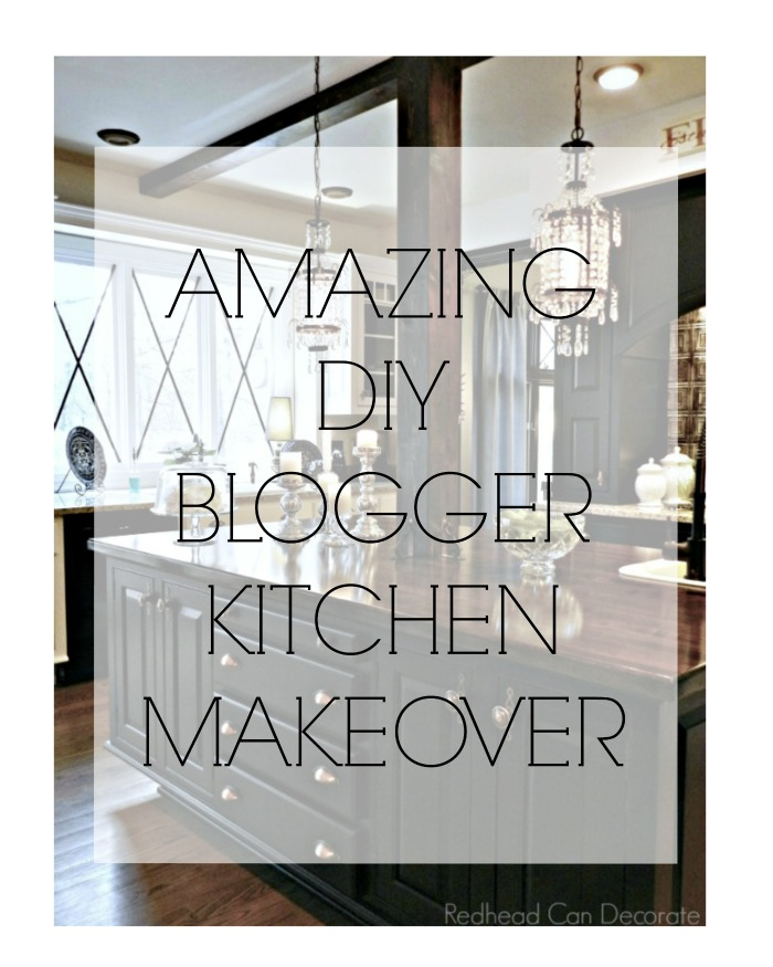 AMAZING DIY BLOGGER KITCHEN MAKEOVER