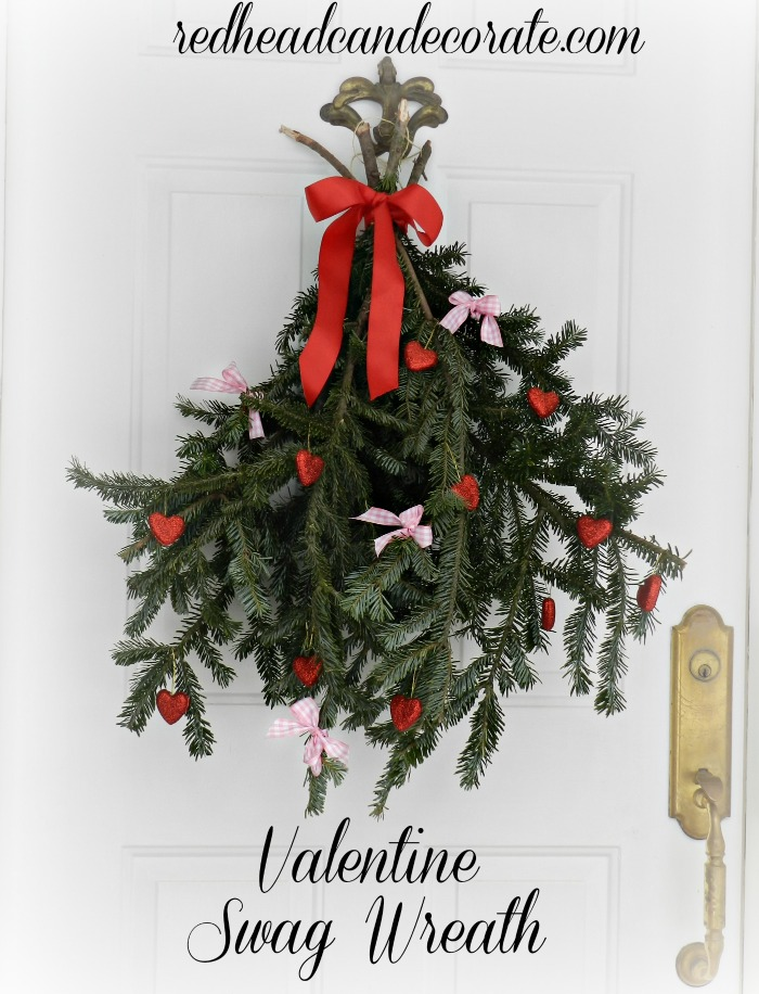 Valentine Swag Wreath
