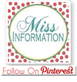 Miss Information on Pinterest