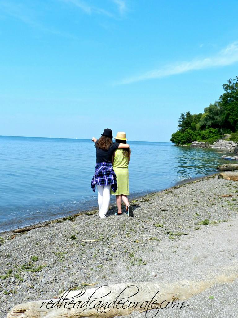 Daphne & Val at Lake Ontario