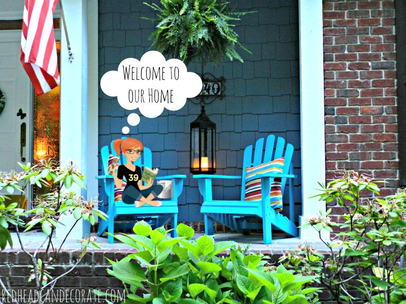 Welcome to Redhead Can Decorate's Home