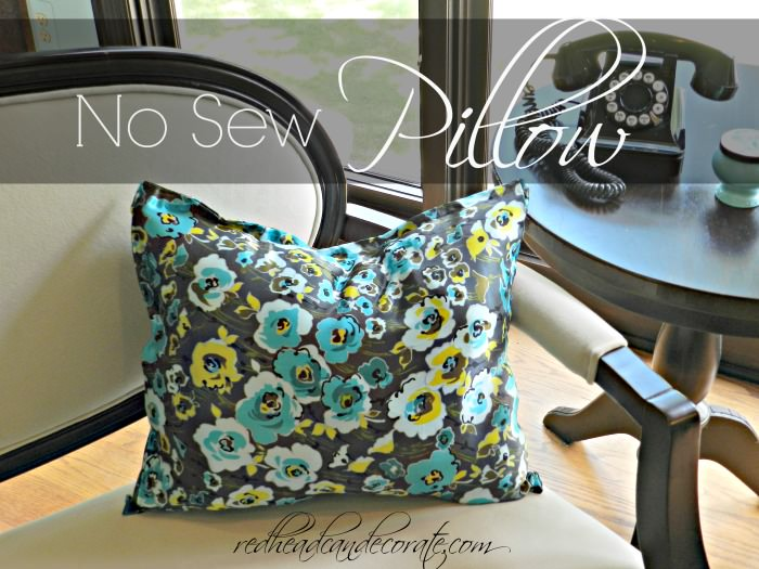 new sew pillow