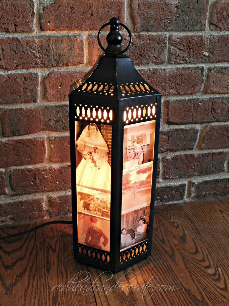 From My Front Porch To Yours-How I Found My Style Sundays- Redhead Can Decorate -Photo Lantern