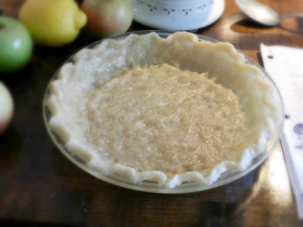 Easy 10 minute pie crust.