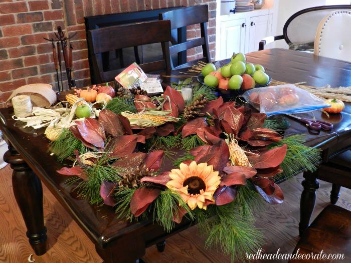 wreath mess