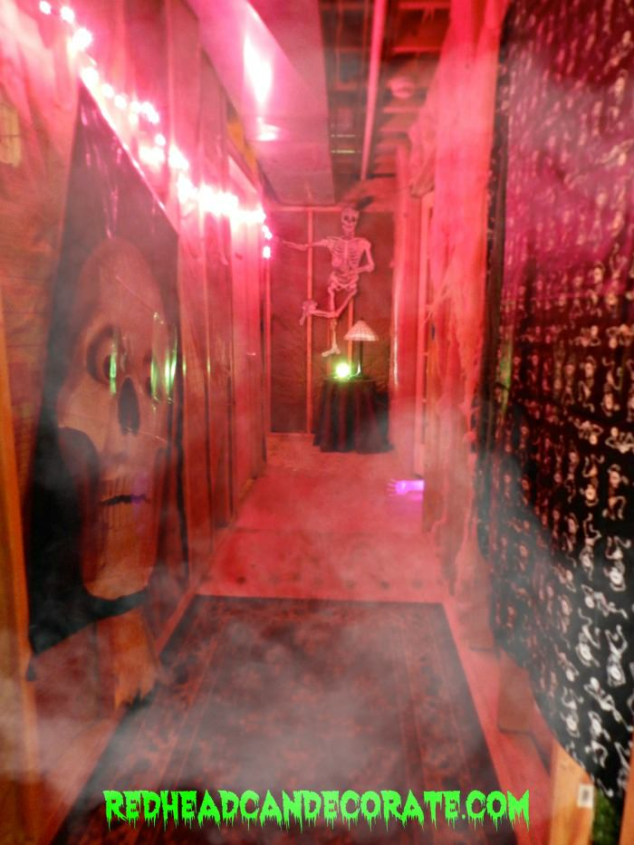 Halloween party ideas the haunted hall redhead can decorateredhead can decorate - Deco hal halloween ...