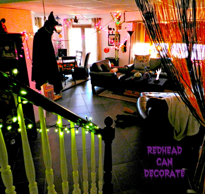 Decorating Ideas > Halloween Party Ideas & The Haunted Hall  Redhead Can  ~ 131212_Basement Party Decorating Ideas