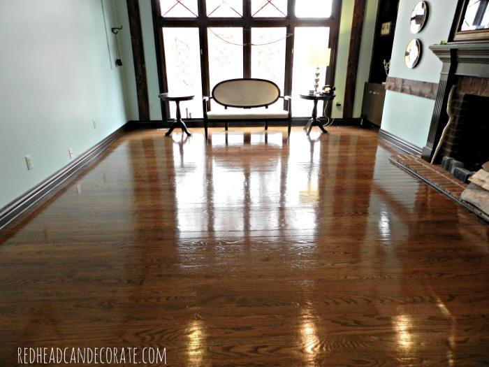 Sandless Wood Floor Refinishing 2