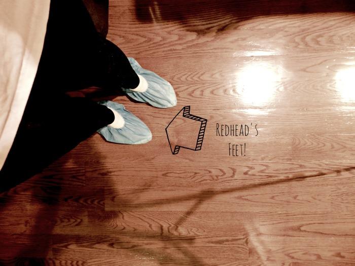 Sandless Wood Floor Refinishing Feet