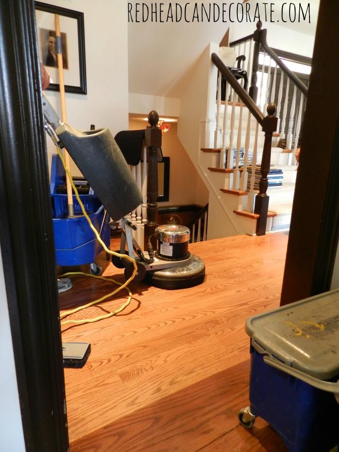 Sandless Wood Floor Refinishing Machine