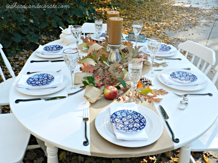 Thanks Giving Table Ideas