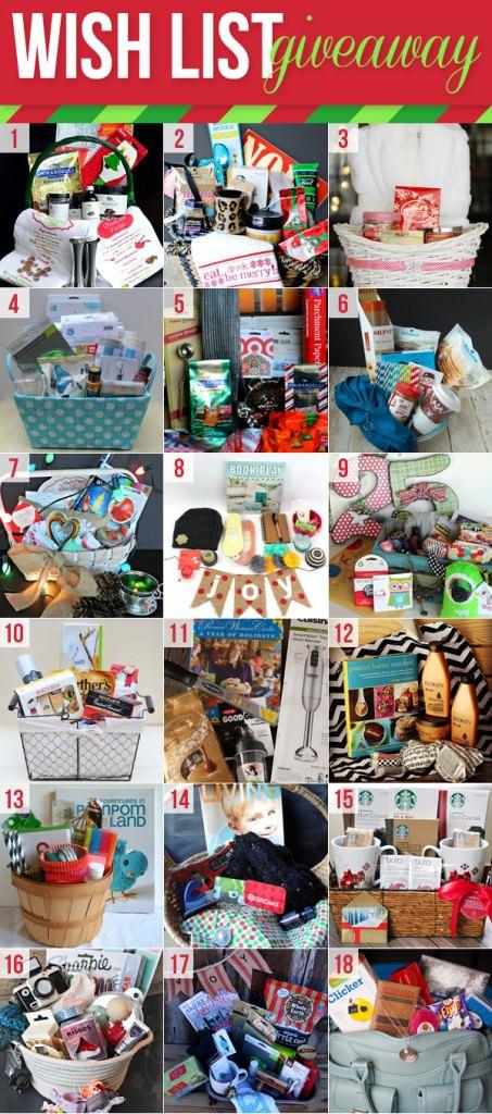 Christmas Wish Basket Giveaway (huge!!!)
