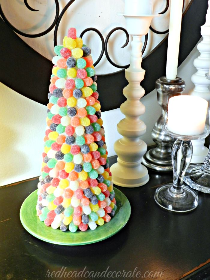 Gumdrop Tree |  redheadcandecorate.com