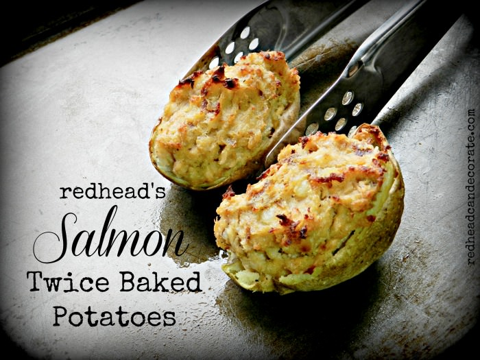 Twice Baked Salmon Potato Recipe