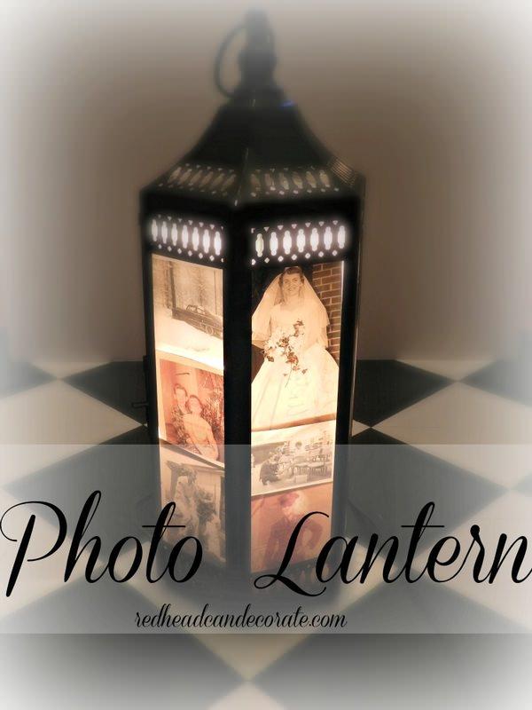 Easy Photo Lantern…
