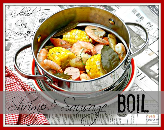 Easy Shrimp Sausage Boil