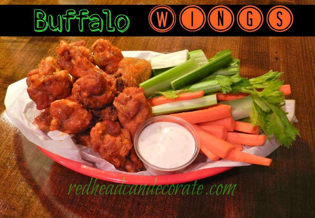 Buffalo Chicken Wing Recipe from a girl from Buffalo