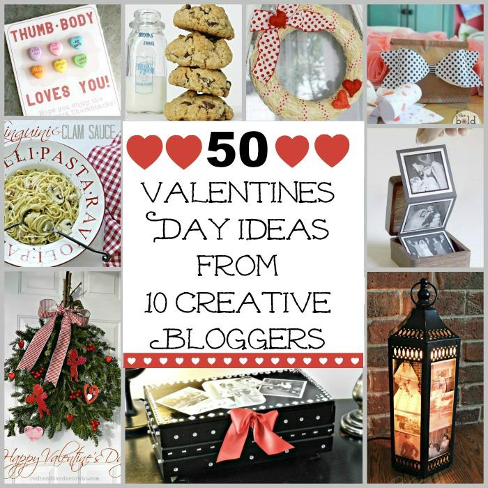 50 Valentine's Day Recipes, Crafts, Decor
