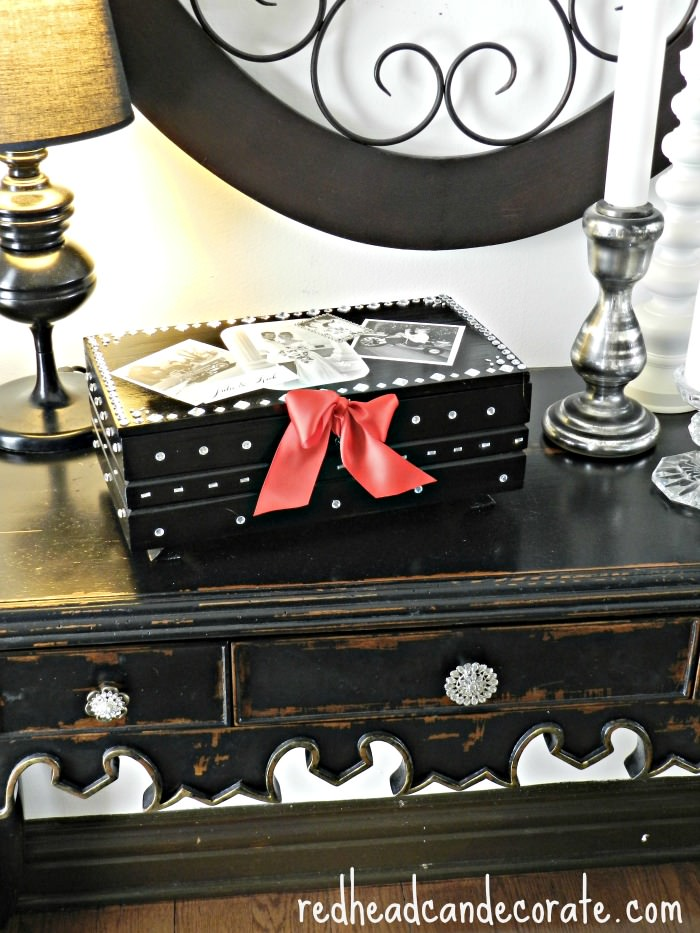 Diy Keepsake Box Redhead Can Decorate