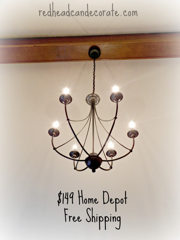 Home Depot Light Fixture
