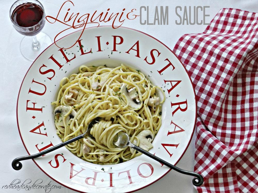 Linguini & Clam Sauce Recipe