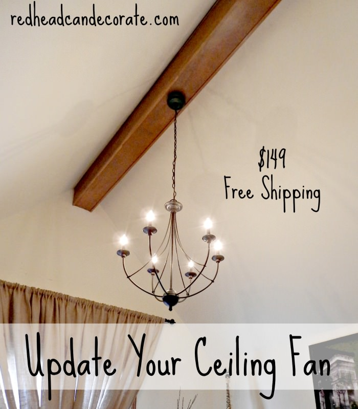 Update Your Ceiling Fan