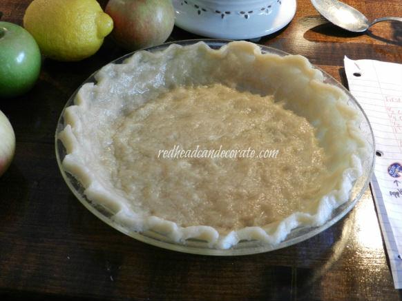 Easy 10 Minute Pie Crust
