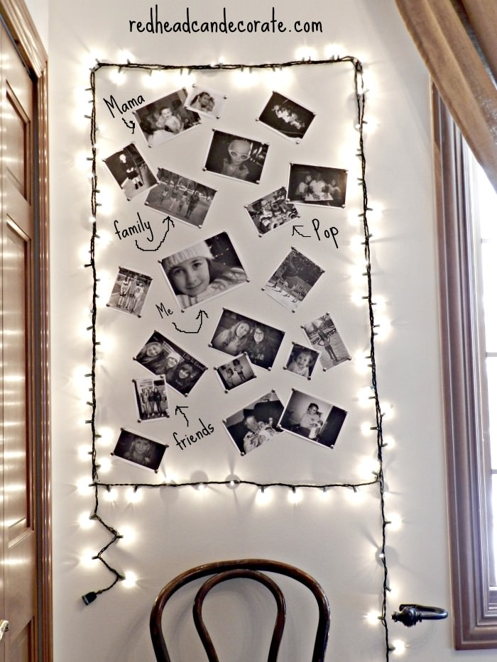 DIY Light Photo Frame