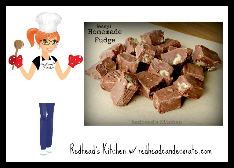 Homemade Fudge Recipe