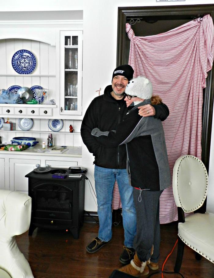 Julie & Rick winter 2013