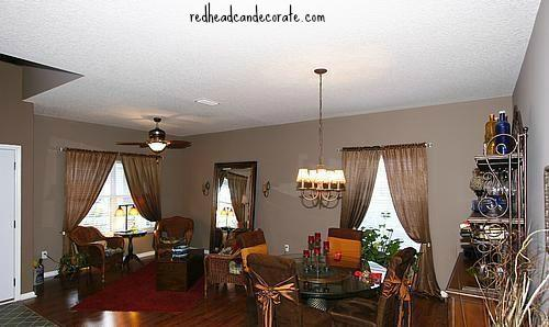 Sitting Room & Dining Room
