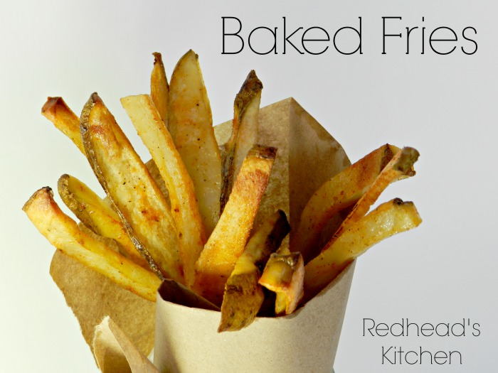 Baked-Fries Death by chocolate and fries