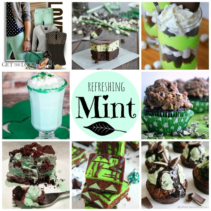 Refreshing Mint from Inspiration Monday Party