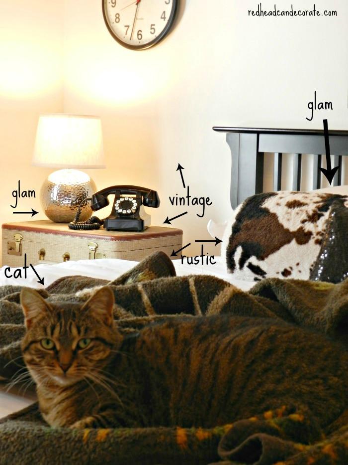 Rustic Glam Bedroom image information