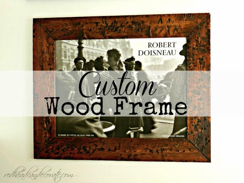 Easy Custom Frame