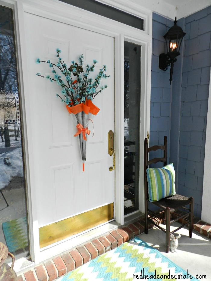 Spring Umbrella Wreath