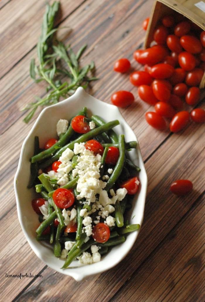Spring Greens Salad by Organized Island