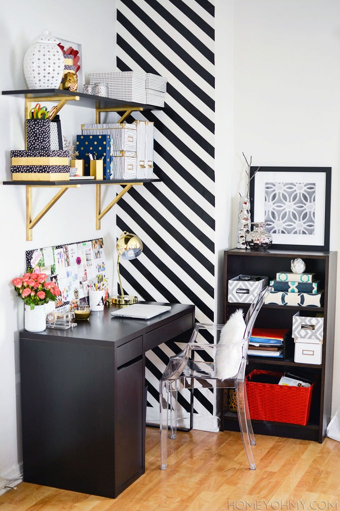 Work-space-with-striped-accent-wall1