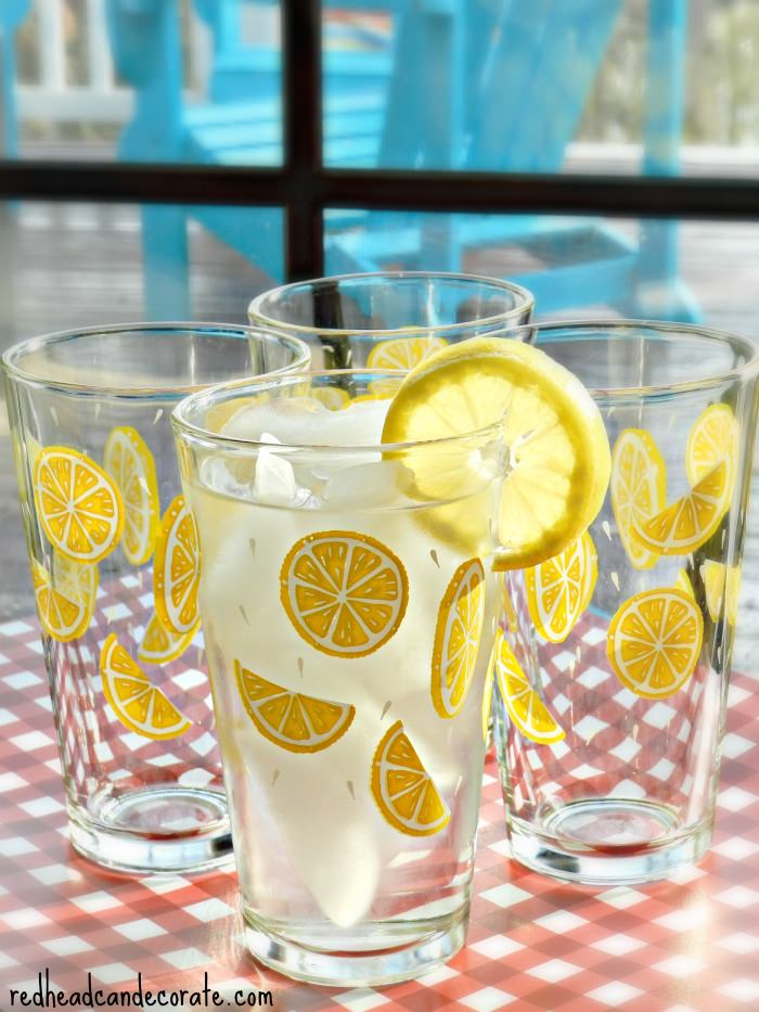 Lemon Glasses