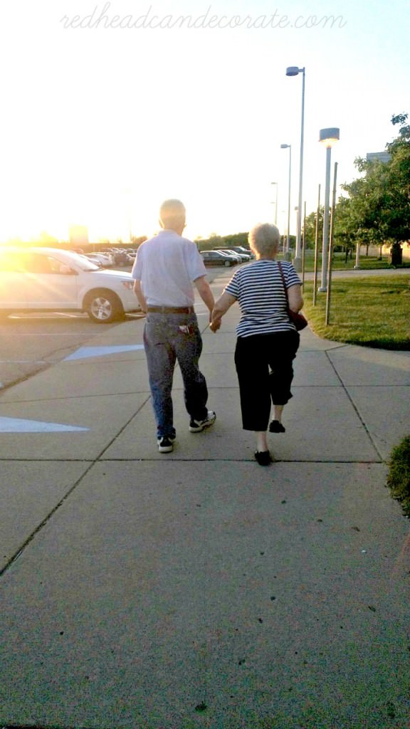 Mom & Dad Walking