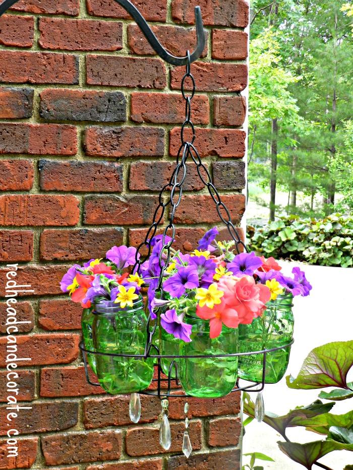 Ball Jars Flower Planter