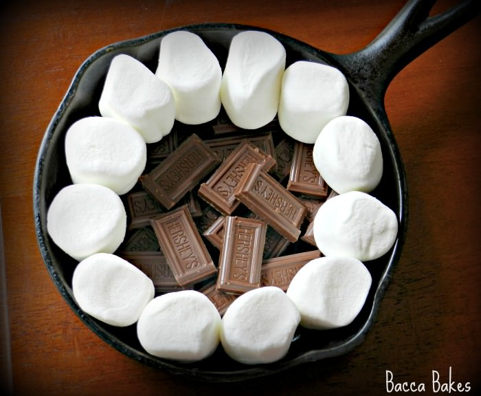 Easy Smores Dip by Bacca Bakes