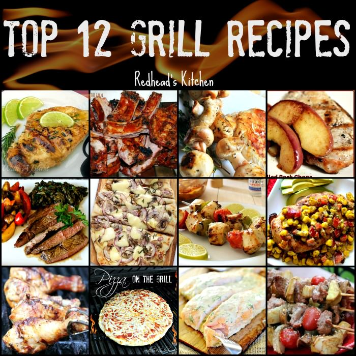 Top 12 Grilling Recipes
