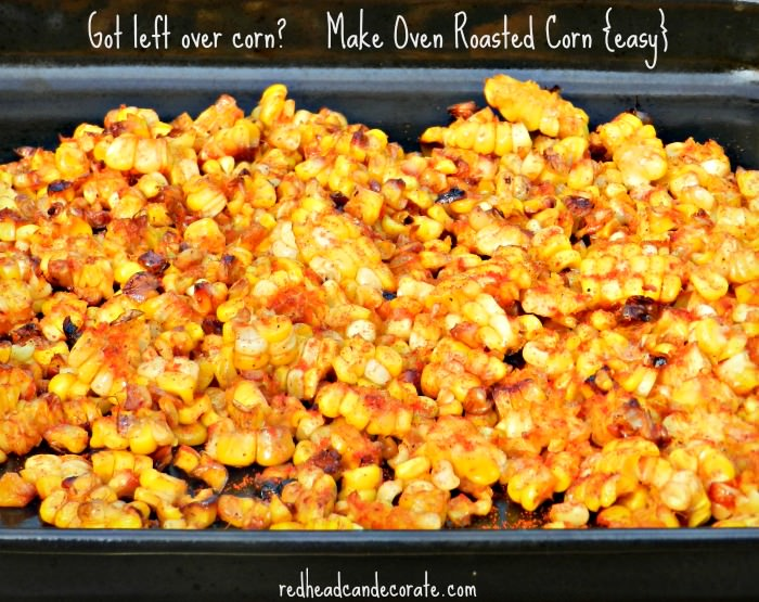 Ge Oven: Oven Roasted Corn