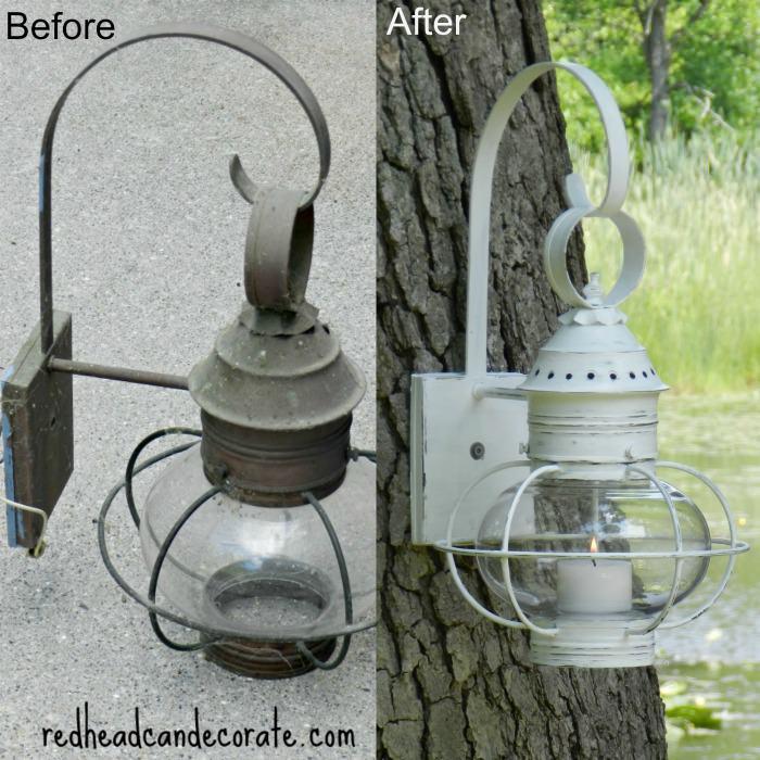 Repurposed Light Fixture