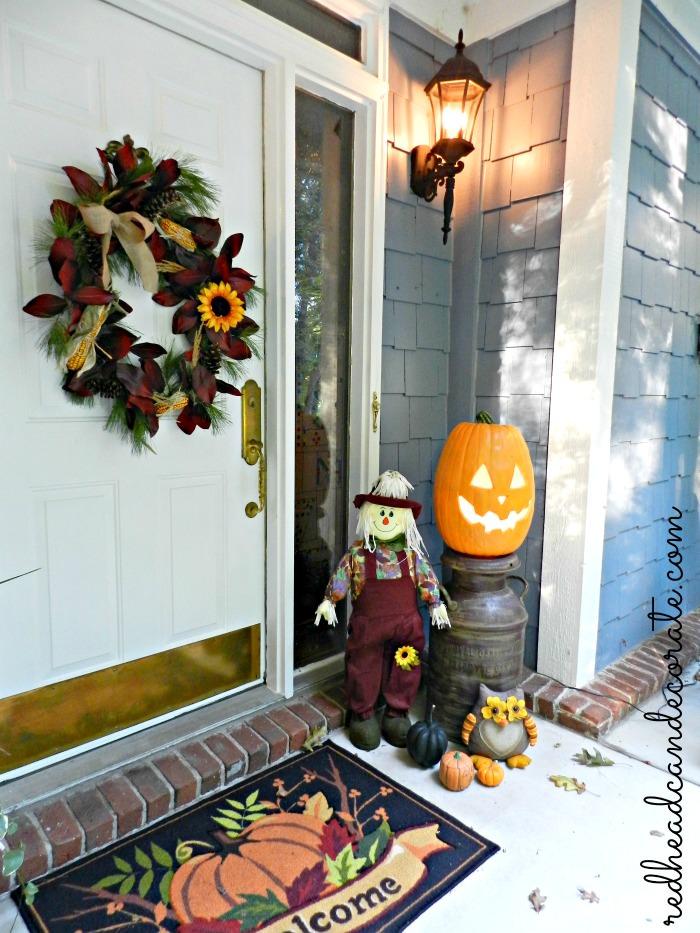 halloween front porch 2013