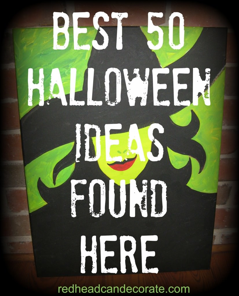 Best 50 Halloween Ideas Found Here